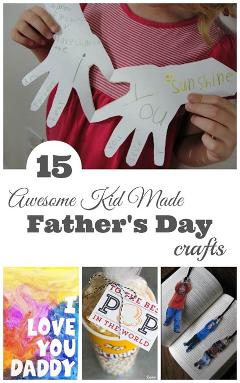 fathers day crafts for to make s day kid made crafts