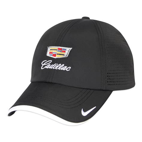 Caps Cadillac by Nike Dri Fit Swoosh Perforated Cap By Cadillac Choice Gear