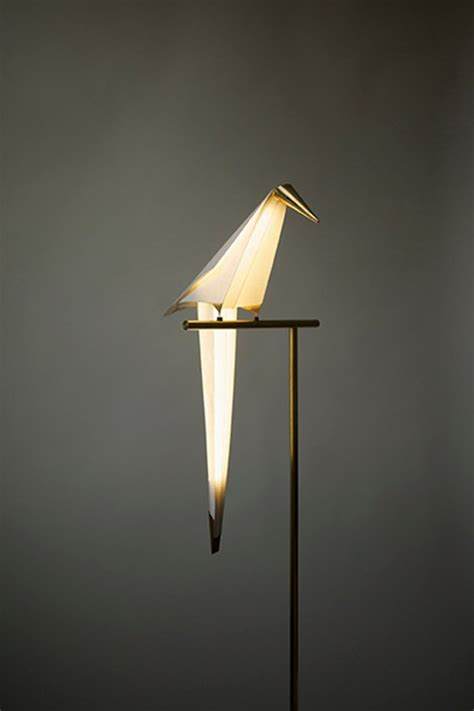 bird lights unique balancing l in bird shape perch light home