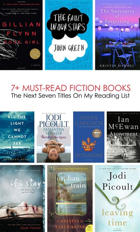 must read the next 7 must read fiction books on my list lasso the moon
