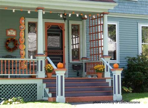 pictures of decorated front porches fall decorating ideas for your front porch