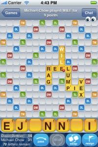 is mo a scrabble word fight words with friends and a mini review
