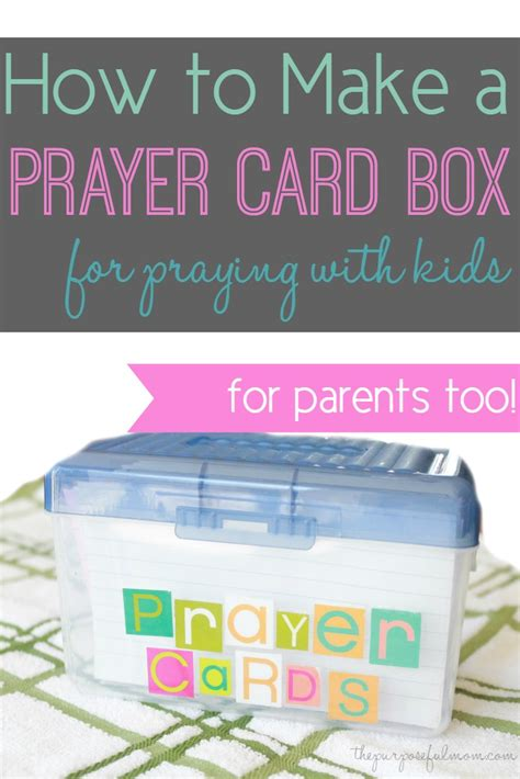 how to make a prayer card how to make a prayer card box for praying with your