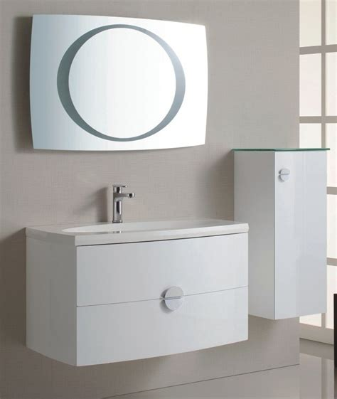 White High Gloss Bathroom Wall Cabinets by China Wall Mounted High Gloss White Color Pvc Bathroom
