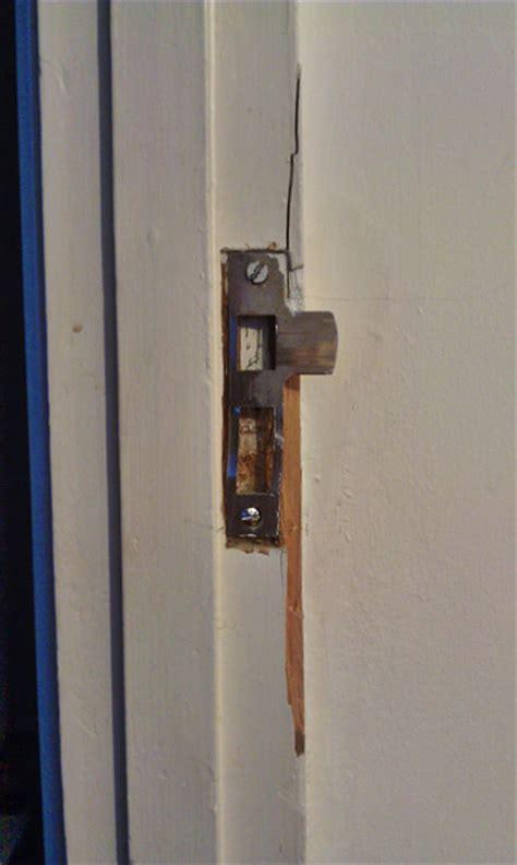 repairing exterior door frame how do i repair a broken wooden door jamb home
