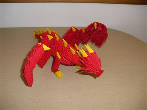 how to make a origami 3d 3d origami by justtree on deviantart