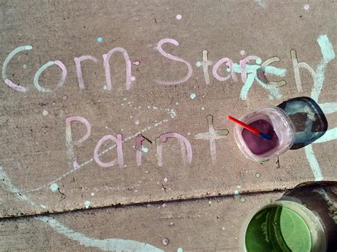 diy chalk paint using cornstarch molding minds homeschool learning