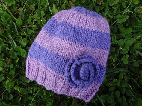 free hat knitting pattern fiber flux free knitting pattern violet newborn hat