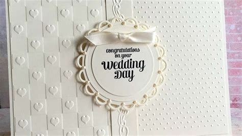 how to make a wedding card how to make an ivory wedding card diy crafts