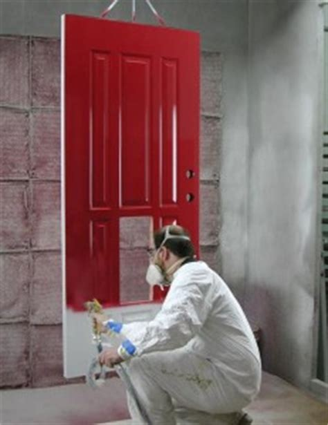 spray painting fiberglass guide to finishing external wooden doors