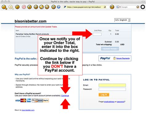 how to make paypal card paypal payments if you don t a paypal account