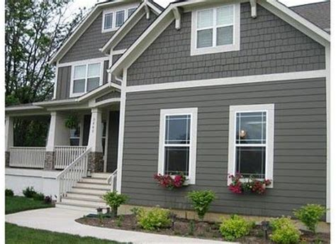 houses painted gray best 25 grey exterior paints ideas on