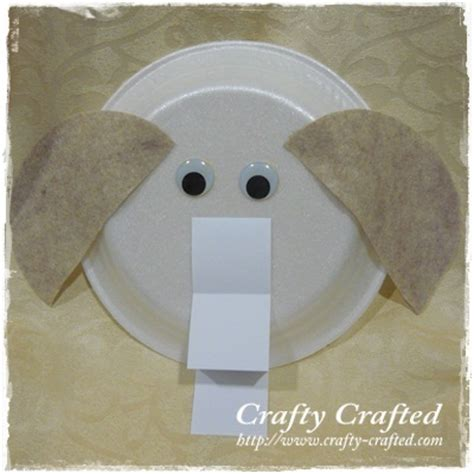 paper elephant craft crafty crafted crafts for children 187 elephant