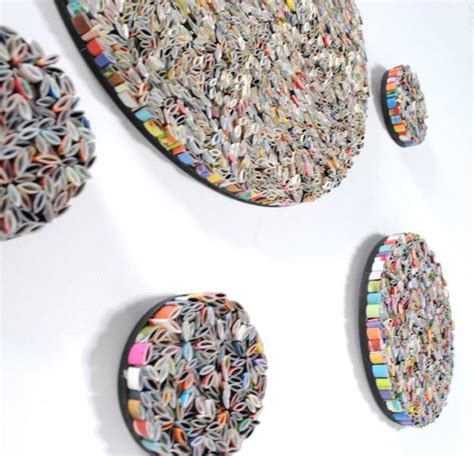 recycled paper craft recycling paper for home decor 30 creative craft