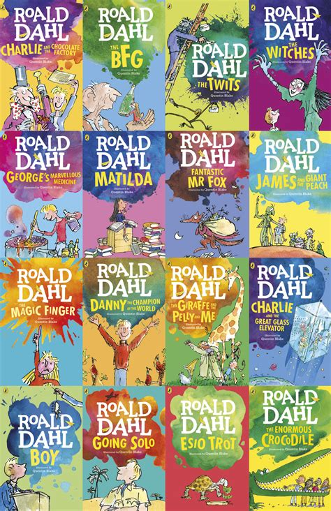 roald dahl picture books and the winner is win we ve got 15 books from roald dahl