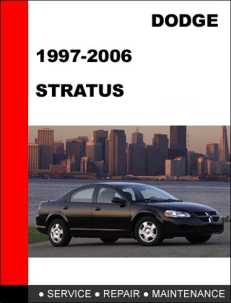 car repair manuals online pdf 1996 dodge neon regenerative braking dodge stratus 1995 2006 workshop service repair manual download m