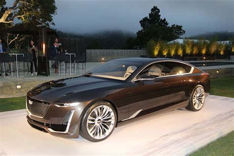 Cadillac Concept by Cadillac Shifts Design Direction With Escala Concept
