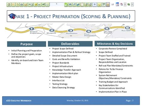 ecio ppt roles for a sap and systems integration project