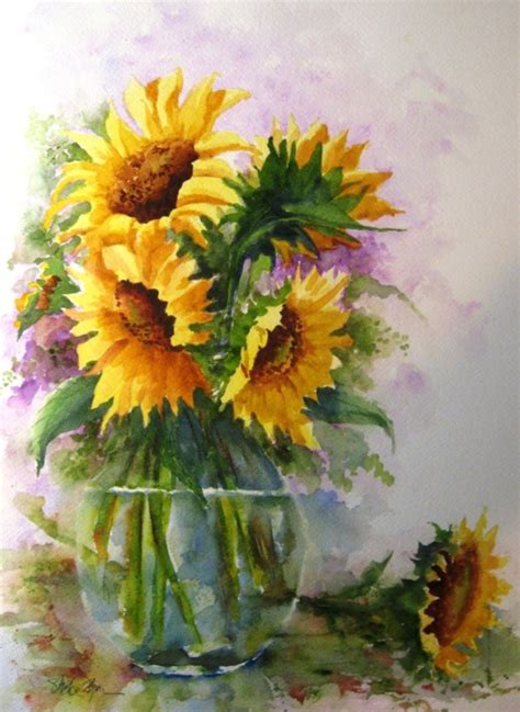 flower painting pictures 40 beautiful paintings of flowers bored