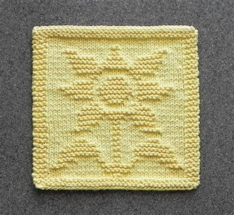 how to knit a dishcloth 6 steps sunflower knit dishcloth wash cloth by susan craftsy
