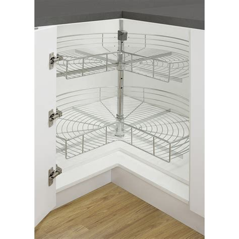 Remove Kitchen Cabinets kaboodle 2 tier corner rotating baskets bunnings warehouse