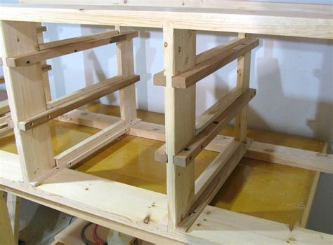 woodworking drawer workbench drawers