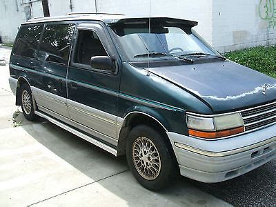 how to fix cars 1994 plymouth voyager engine control 1994 plymouth voyager cars for sale