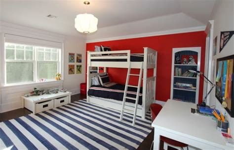 boys bedroom lighting boys bedroom in white and blue with bunk beds and
