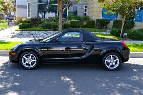 automobile air conditioning service 2000 toyota mr2 regenerative braking buy used 1 owner 2000 toyota mr2 roadster with only 10 400 miles in fontana california united