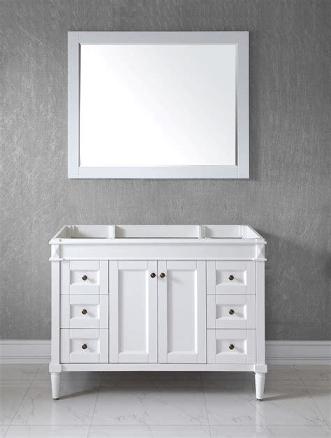 White Bathroom Cabinets by Attachment White Bathroom Vanity Cabinet 866