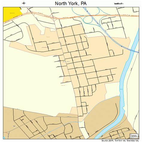 york pa york pennsylvania map 4255608