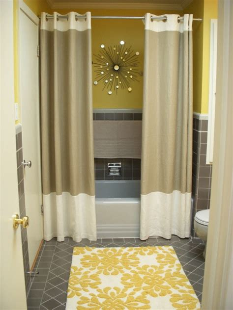 bathroom with shower curtains ideas mr kate design idea shower curtains
