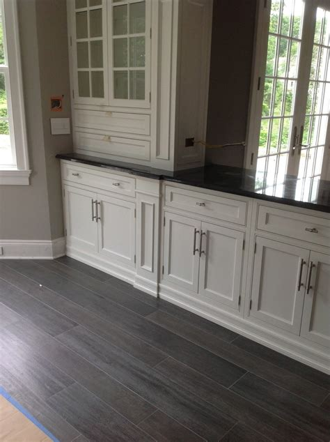 grey wood floors kitchen grey wood flooring dining room contemporary with white