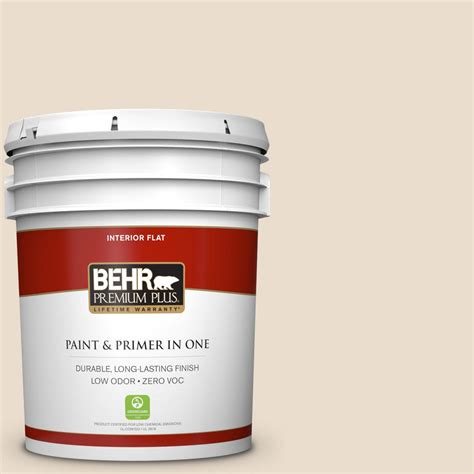 home depot 5 gallon interior paint behr premium plus 5 gal 23 antique white flat interior