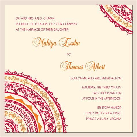 invitation card wonderful weddings the invitation cards for different