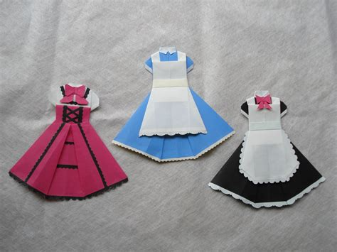origami clothing for 1000 images about origami doll clothes on