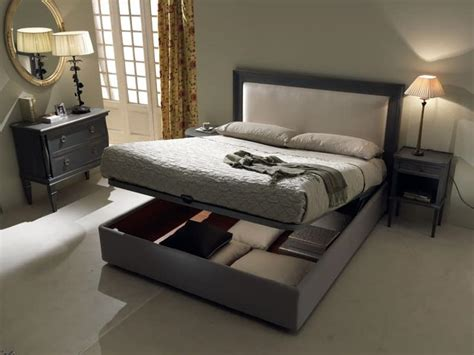 bed and box bed with storage box padded headboard idfdesign