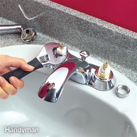 fixing a leaky kitchen faucet quickly fix leaky cartridge type faucets the family handyman