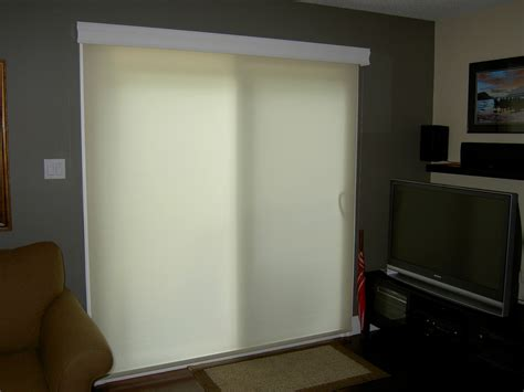 roller shades for patio doors one way view custom roller shade one way view custom