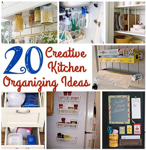 organising ideas 20 creative kitchen organizing ideas s home