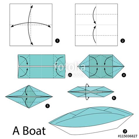 how to make a origami boat step by step origami boat step by step comot
