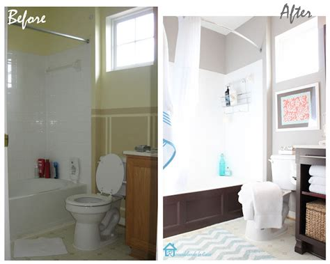 Before And After Small Bathroom Makeovers by Small Bathroom Makeovers Before And After Creative Home