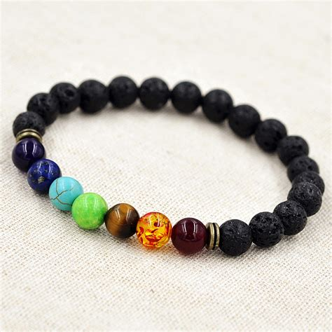 7 Gemstone Chakra Healing Balance Bracelet For Meditation