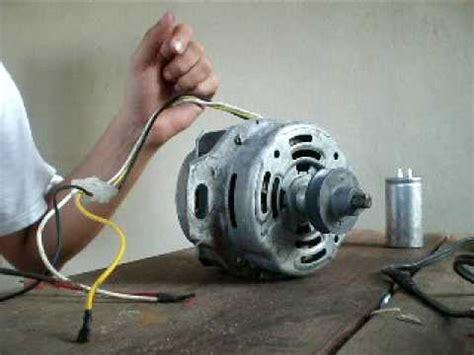 Condensator Motor Monofazat by Induction Motor 1 Phase Manual Start Removing Capacitor