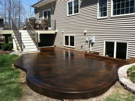 how to stain concrete patio yourself stain concrete patio yourself 28 images removing stain