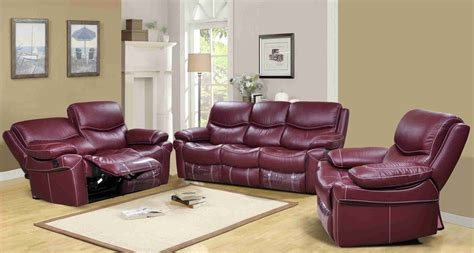 reclining sofa set reclining leather sofa set morrell leather reclining