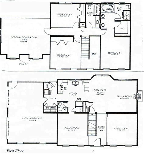 3 bedroom 2 story house plans 2 story 3 bedroom house plans 2 story house 1 bedroom bungalow floor plans mexzhouse