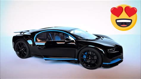 Bugatti Chiron Model Car by Model Car Custom Diecast Bugatti Chiron Quot Blackue Quot Bburago