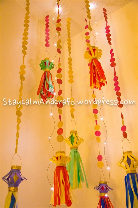 decorations and crafts kandeel the paper lantern diwali decoration crafts