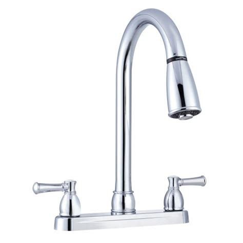 rv kitchen faucet replacement dura faucet non metallic dual lever pull rv kitchen